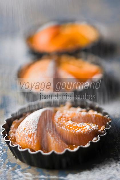 Europe/France/Rhône-Alpes/26/Drôme: Tarte aux abricots des vergers de la Drome provençale