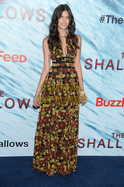 NEW YORK, NY - JUN 21: Thais Oliveira attends the World Premiere of &quot;The Shallows&quot; at the AMC Loews Lincoln Square Cinemas on June 21, 2016 in NEW YORK CITY.<br /> CAP/LNC/TOM<br /> &copy;TOM/LNC/Capital Pictures