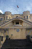The Bellavista Fortress, which now houses the Museo Nacional de Costa Rica in the city of San Jose, Costa Rica.