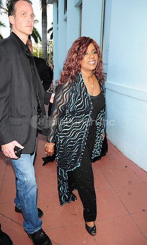 MIAMI BEACH, FL - APRIL 14: Gloria Gaynor attends the 1st annual Florida 'Sounding Off For A Cure' benefit concert presented by the Voices Against Brain Cancer Foundation Fillmore Miami Beach on April 14, 2011 in Miami Beach, Florida. (photo by: MPI10/MediaPunch Inc.)