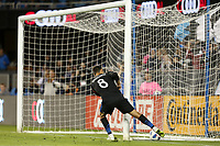 San Jose, CA - Saturday October 06, 2018: Chris Wondolowski during a Major League Soccer (MLS) match between the San Jose Earthquakes and the New York Red Bulls at Avaya Stadium.