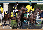 October 06, 2018 : #6 Everfast and Jack Gilligan in the 105th running of The Claiborne Breeders' Futurity (Grade 1) $500,000 at Keeneland Race Course on October 06, 2018 in Lexington, KY.  Candice Chavez/ESW/CSM