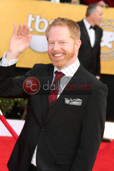 LOS ANGELES - JAN 30:  Jesse Tyler Ferguson arrives at the 2011 Screen Actors Guild Awards  at Shrine Auditorium on January 30, 2011 in Los Angeles, CA