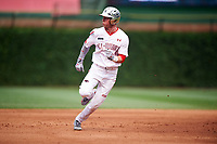 Cole Brannen (5) of The Westfield Schools High School in Elko, Georgia during the Under Armour All-American Game presented by Baseball Factory on July 23, 2016 at Wrigley Field in Chicago, Illinois.  (Mike Janes/Four Seam Images)