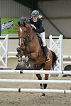 Class 1. Novice. British Showjumping seniors. Brook Farm training centre. Essex. 01/10/2017. MANDATORY Credit Garry Bowden/Sportinpictures - NO UNAUTHORISED USE - 07837 394578