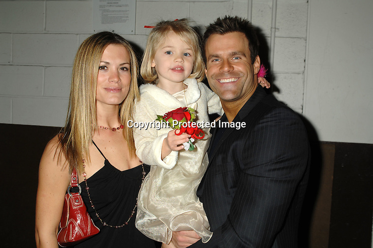 Melissa Claire Egan, Lucy Merriam and Cameron Mathison ..at The All My Children Christmas party on December 8, 2006 at The ABC Studio...Robin Platzer, Twin Images