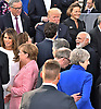 07.07.2017; Hamburg, Germany: THERESA MAY SIDELINED AT G20 SUMMIT<br />