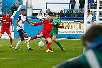 O's Craig Clay cores Orients 2nd goal during Barrow vs Leyton Orient, Vanarama National League Football at the Furness Building Society Stadium on 7th October 2017