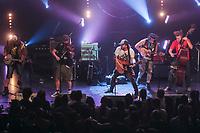 Quebec Redneck Bluegrass Project performs at the Festival d'ete de Quebec (Quebec City Summer Festival) Friday July 17, 2015.