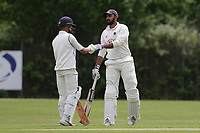 Crouch End CC (fielding) vs Waltham CC, ECB National Club Championship Cricket at The Calthorpe Ground on 9th June 2019