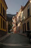 Early morning light, Vallehermosa La Gomera, Canary Islands. Spain.