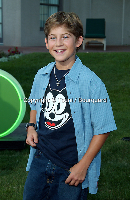 Alex Linz (Providence) arriving at the All-Star Party for the new season of NBC at the Ritz Carlton in Pasadena, Los Angeles. July 24, 2002.           -            LinzAlex01.jpg