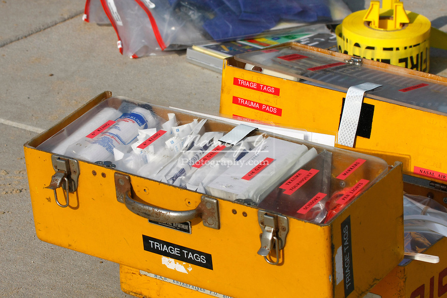 Mass Casualty incident preparation equipment box