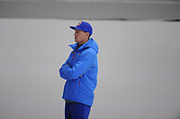 OLYMPIC GAMES: PYEONGCHANG: 09-02-2018, Gangneung Oval, Training session, Jeremy Wotherspoon (coach Norway), ©photo Martin de Jong