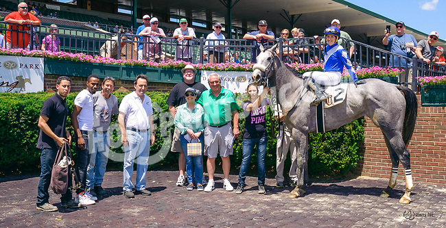 Rockaroundthedock winning at Delaware Park on 6/2417