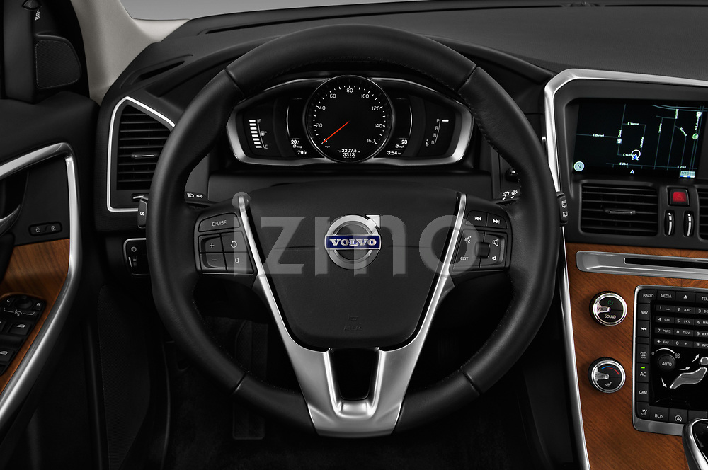 Car pictures of steering wheel view of a 2017 Volvo XC60 Inscription 5 Door SUV Steering Wheel