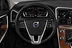 Car pictures of steering wheel view of a 2017 Volvo XC60 Inscription 5 Door SUV Steering Wheel