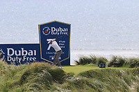 Cormac Sharvin (IRL) tees off the 7th tee during Thursday's Round 1 of the Dubai Duty Free Irish Open 2019, held at Lahinch Golf Club, Lahinch, Ireland. 4th July 2019.<br /> Picture: Eoin Clarke | Golffile<br /> <br /> <br /> All photos usage must carry mandatory copyright credit (© Golffile | Eoin Clarke)