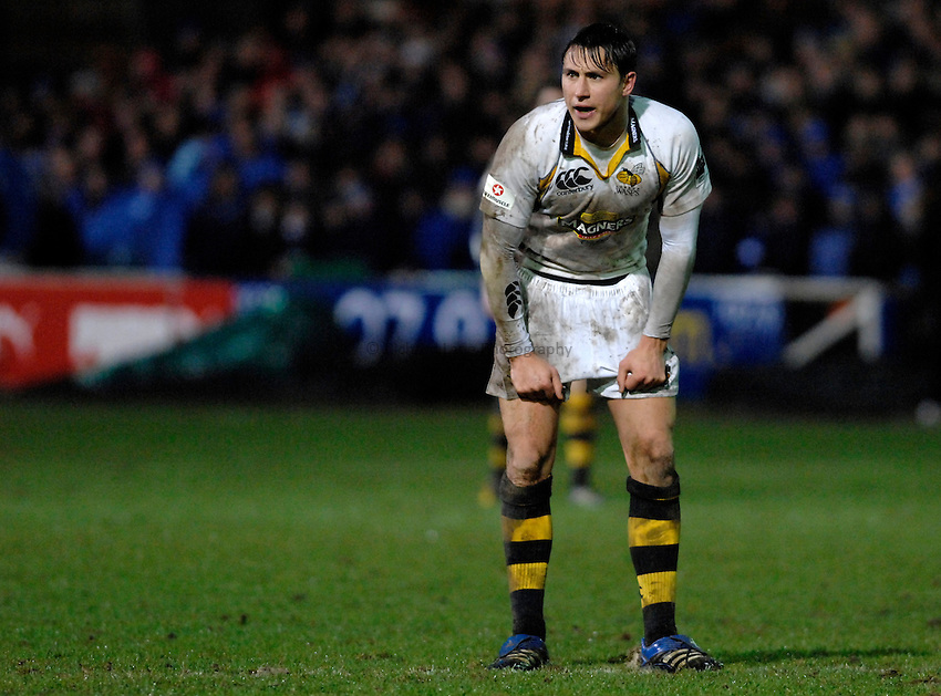 Photo: Richard Lane..Bath Rugby v London Wasps. Guinness Premiership. 01/01/2007. .Wasps' Rob Hoadley.