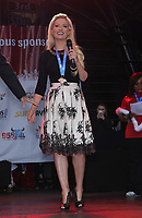 02 December 2017 - Las Vegas, NV - Holly Madison. 2017 Las Vegas Great Santa Run Kickoff with Grand Marshals Wayne Newton and Holly Madison at The Fremont Street Experience. Photo Credit: MJT/AdMedia