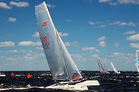 AT- Zhik F-18 Americas Championship Race - Start & Finish & Crashes, Port Charlotte FL 10 15