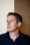 Geoff Keighley produces The Game Awards, which will take place in Los Angeles in December. He poses for a portrait in his office in Los Angeles, California, November 5, 2015.