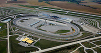 aerial photograph Iowa Speedway, Newton, Iowa