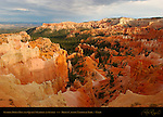 Sunrise Point Fins and Queen's Garden at Sunset, Bryce Canyon National Park, Utah
