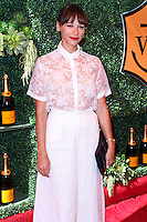 PACIFIC PALISADES, CA, USA - OCTOBER 11: Rashida Jones arrives at the 5th Annual Veuve Clicquot Polo Classic held at Will Rogers State Historic Park on October 11, 2014 in Pacific Palisades, California, United States. (Photo by Xavier Collin/Celebrity Monitor)