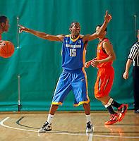 April 10, 2011 - Hampton, VA. USA;  Jamal Ferguson participates in the 2011 Elite Youth Basketball League at the Boo Williams Sports Complex. Photo/Andrew Shurtleff