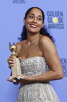 www.acepixs.com<br /> <br /> January 8 2017, LA<br /> <br /> Tracee Ellis Ross appeared in the press room during the 74th Annual Golden Globe Awards at The Beverly Hilton Hotel on January 8, 2017 in Beverly Hills, California.<br /> <br /> By Line: Famous/ACE Pictures<br /> <br /> <br /> ACE Pictures Inc<br /> Tel: 6467670430<br /> Email: info@acepixs.com<br /> www.acepixs.com
