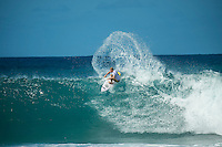 BANZAI PIPELINE, Oahu/Hawaii (Tuesday, December 13, 2016) Adam Melling (AUS) - The Billabong Pipe Masters in Memory of Andy Irons, the final stop on the 2016  World Championship Tour (CT) was called on this morning despite  unfavourable  side onshore winds.<br /> <br /> The swell had jumped a little overnight and was coming in from a NW direction and organisers decided to get the main event under way because  the forecast for the rest of the waiting period isn't looking very good.<br /> <br /> The NW swell meant a lot of the surfing was at Backdoor with the occasional Pipeline wave. <br /> Photo: joliphotos