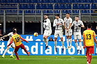 Roberto Insigne of Benevento scores for his side <br /> Milano 13-1-2019 Stadio Giuseppe Meazza <br /> Football Italy Cup 2018/2019 Inter - Benevento 6-2 <br /> Foto Image Sport  / Insidefoto
