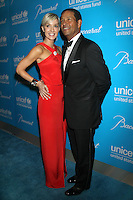 NEW YORK, NY - NOVEMBER 27: Hilary Gumbel and Bryant Gumbel at the 2012 Unicef SnowFlake Ball at Cipriani 42nd Street on November 27, 2012 in New York City. Credit: RW/MediaPunch Inc. /NortePhoto