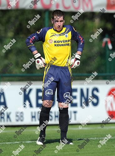 2011-09-02 / Voetbal / seizoen 2011-2012 / KSK Heist / Jonathan Ruttens..Foto: Mpics