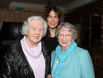 Frances O'Neill, Catherine and Laura Rogers pictured at Ettie Rogers's 90th birthday in the Glyde Inn Annagassan. Photo: Colin Bell/pressphotos.ie