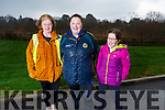 Pat Turner, Joanne Kelly and Laura Gleasure all from Tralee at the Let's get Kerry walking, National Operation Transformation Walk.