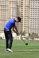 Niklas Lemke (SWE) during round 2, Ras Al Khaimah Challenge Tour Grand Final played at Al Hamra Golf Club, Ras Al Khaimah, UAE. 01/11/2018<br /> Picture: Golffile | Phil Inglis<br /> <br /> All photo usage must carry mandatory copyright credit (&copy; Golffile | Phil Inglis)