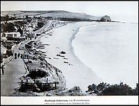 BNPS.co.uk (01202 558833)<br /> Pic: PhilYeomans/BNPS<br /> <br /> Even genteel Budleigh Salterton was photographed and mapped.<br /> <br /> Chilling - Hitlers 'How to' guide to the invasion of Britain.<br /> <br /> A remarkably detailed invasion plan pack of Britain has been unearthed to reveal how our genteel seaside resorts would have been in the front line had Hitler got his way in World War Two.<br /> <br /> The Operation Sea Lion documents, which were issued to German military headquarters' on August 1, 1940, contain numerous maps and photos of every town on the south coast.<br /> <br /> They provide a chilling reminder of how well prepared a German invading force would have been had the Luftwaffe not been rebuffed by The Few in the Battle of Britain.<br /> <br /> There is a large selection of black and white photos of seaside resorts and notable landmarks stretching all the way from Land's End in Cornwall to Broadstairs in Kent.<br /> <br /> The pack also features a map of Hastings, raising the possibility that a second battle could have been staged there, almost 900 years after the invading William The Conqueror triumphed in 1066.