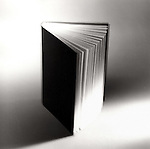 Blank cover book with movement