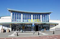 Nederland  Den Helder 2015 . Kantoor waaer men tickets kan kopen voor de overtocht naar Texel