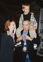 1996 <br /> Dennis Hopper,Victoria Duffy son Henry <br /> Photo to By John Barrett-PHOTOlink.net/MediaPunch