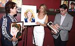 Judy Kaye, Kelli O'Hara & Matthew Broderick.attending the unveiling of the Sardi's Kelli O'Hara Caricature in New York City on June 5, 2012.