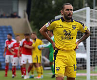 Oxford United's Ricky Holmes in action<br /> <br /> Photographer David Shipman/CameraSport<br /> <br /> The EFL Sky Bet League One - Oxford United v Fleetwood Town - Saturday August 11th 2018 - Kassam Stadium - Oxford<br /> <br /> World Copyright &copy; 2018 CameraSport. All rights reserved. 43 Linden Ave. Countesthorpe. Leicester. England. LE8 5PG - Tel: +44 (0) 116 277 4147 - admin@camerasport.com - www.camerasport.com