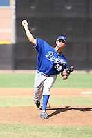 Mike Giovenco - Kansas City Royals - 2010 Instructional League.Photo by:  Bill Mitchell/Four Seam Images..