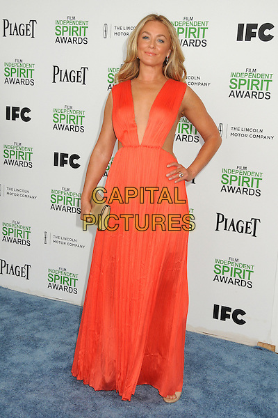 1 March 2014 - Santa Monica, California - Elisabeth Rohm. 2014 Film Independent Spirit Awards - Arrivals held at Santa Monica Beach. <br /> CAP/ADM/BP<br /> &copy;Byron Purvis/AdMedia/Capital Pictures
