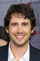 "HOLLYWOOD, LOS ANGELES, CA, USA - MARCH 11: Josh Groban at the World Premiere Of Disney's ""Muppets Most Wanted"" held at the El Capitan Theatre on March 11, 2014 in Hollywood, Los Angeles, California, United States. (Photo by Xavier Collin/Celebrity Monitor)"