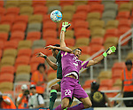 AL AHLI (KSA) vs EL JAISH (QAT) during their AFC Champions League Group D match on 03 May 2016 held at the King Abdullah Sports City, in Jeddah, Saudi Arabia. Photo by Stringer / Lagardere Sports