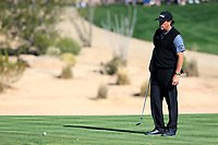 Phil Mickelson (USA) on the 5th during the 2nd round of the Waste Management Phoenix Open, TPC Scottsdale, Scottsdale, Arisona, USA. 01/02/2019.<br /> Picture Fran Caffrey / Golffile.ie<br /> <br /> All photo usage must carry mandatory copyright credit (© Golffile | Fran Caffrey)