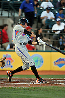 Aberdeen Ironbirds outfielder Kipp Schutz (23) during game against the Brooklyn Cyclones at MCU Park in Brooklyn, NY June 21, 2010. Cyclones won 5-2.  Photo By Tomasso DeRosa/Four Seam Images